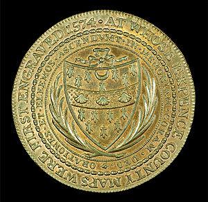 Thomas Seckford - 1796 Conder Token, Reverse