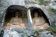 Thousand buddha cliff shandong 2006 09 1.jpg