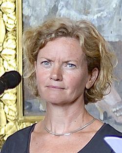 Thrérèse Brunnander under Det Kgl. Svenske Teaters efterårssamling 2014.