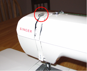 take up lever sewing machine
