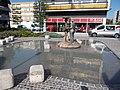 Three Graces fountain by József Somogyi, Veszprém Belváros, 2016 Hungary.jpg
