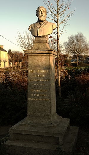 Paul Héroult - Statue of Paul Heroult