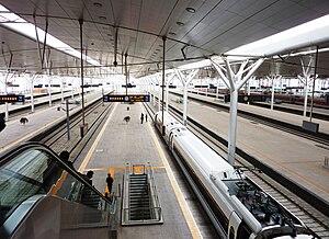 Beijing–Tianjin intercity railway - Tianjin Railway Station