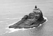 Tillamook Rock Lighthouse, 1947, ca. 1943 - ca. 1953 - NARA - 298212.jpg