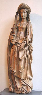 Saint Barbara, Bayerisches Nationalmuseum)