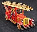 Tin toy fire truck, pic-009.JPG