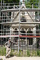 Tomb of Abelard and Heloise - under restoration.jpg