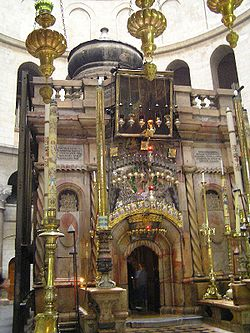 http://upload.wikimedia.org/wikipedia/commons/thumb/5/50/Tomb_of_christ_sepulchre1.jpg/250px-Tomb_of_christ_sepulchre1.jpg