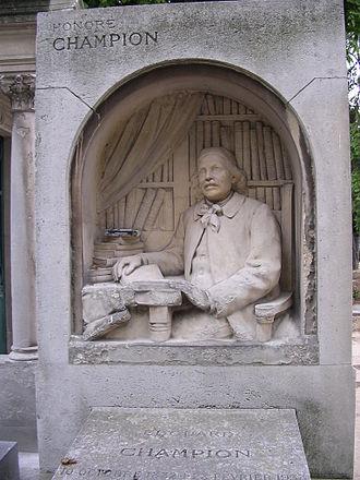 Albert Bartholomé - Tomb of Honoré Champion