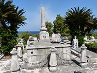 Tombe de Valtazar Bogišić à Cavtat Croatie.JPG