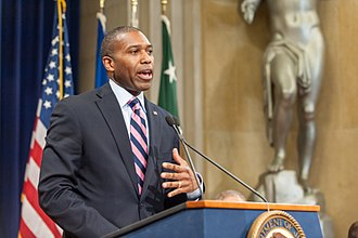 Tony West (attorney) - Tony West speaks at the Department of Justice in 2013