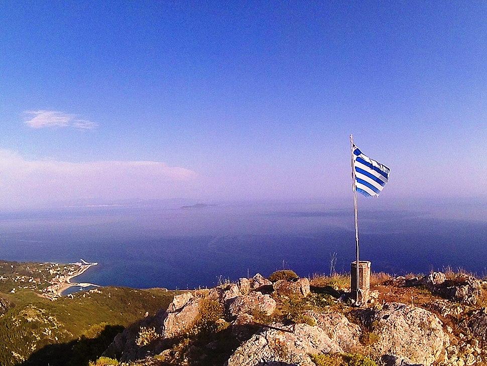 Top of Mount. Imerovigli
