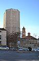 Torre de la Bombardera i església de sant Miquel, Terol.JPG