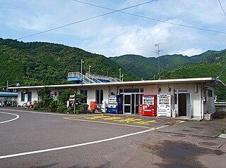 Tosa-Saga Station Railway station in Kuroshio, Kōchi Prefecture, Japan