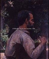 Toulouse-Lautrec - TETE D'HOMME (Mr ETIENNE DEVISMES), 1882, MTL.83.jpg
