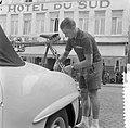 Tour de France , in Charleroi, de Nederlandse ploeg. Wout Wagtmans , zijn fiets , Bestanddeelnr 908-7405.jpg