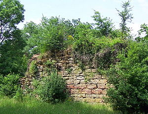 Assier - The ruins of the Tour de Maroc at a place called La Garénie, was a hideout for Bassorat during the Hundred Years War.
