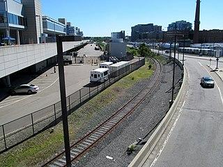 Track 61 (Boston) Rail spur to Boston Harbor