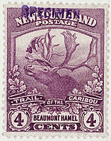 Trail of Caribou - Beaumont Hamel Stamp