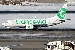 Transavia, PH-XRB, Boeing 737-7K2 (40269351105).jpg