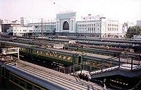Ο σταθμός της πόλης
