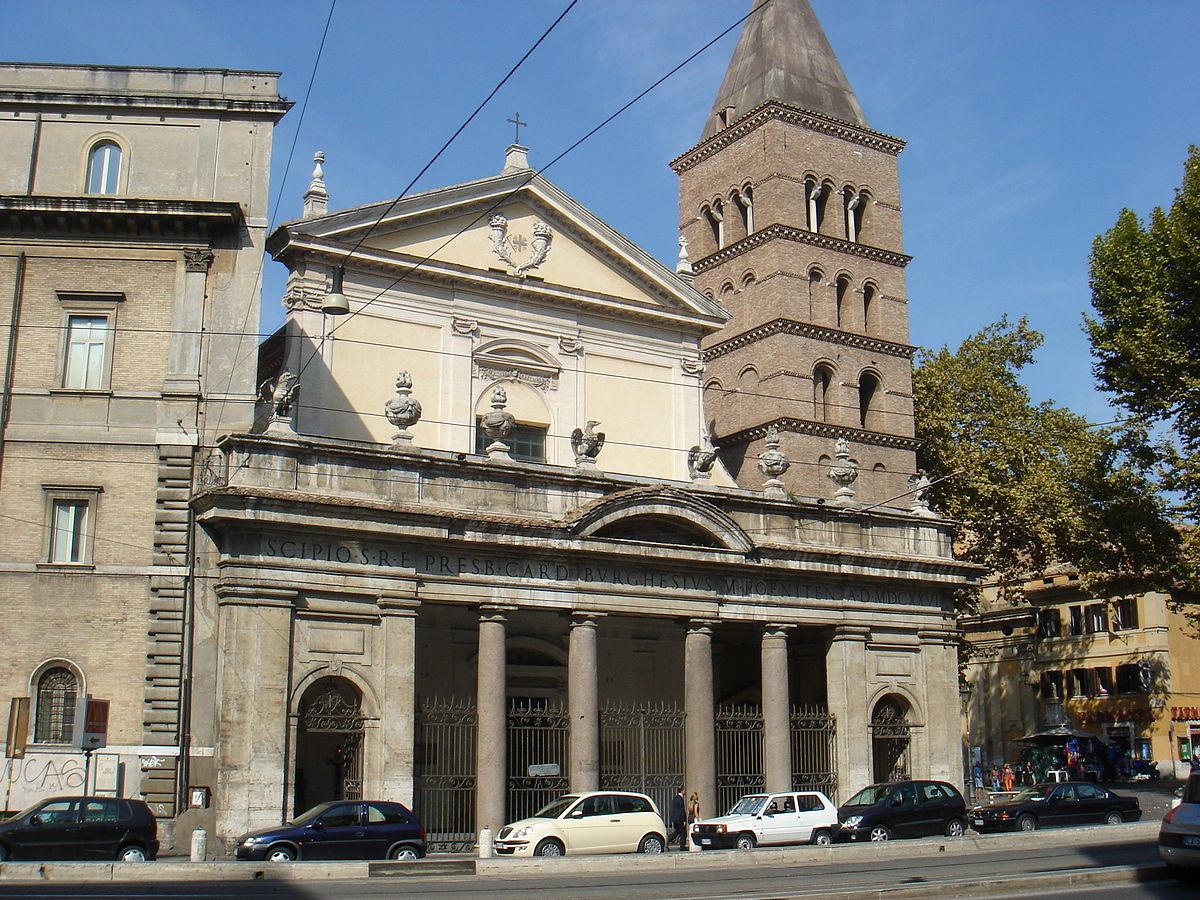 Roman Catholic Church Floor Plan San Crisogono Rome Wikipedia
