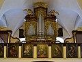 Traunkirchen - Pfarrkirche Krönung Mariens - Orgelempore.jpg