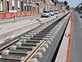 Travaux de la branche vers Vieux-Condé de la ligne B du tramway de Valenciennes en mai 2012 (120).JPG