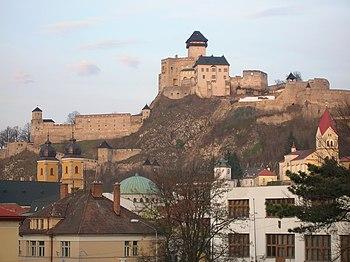 Castillo de Trenčín
