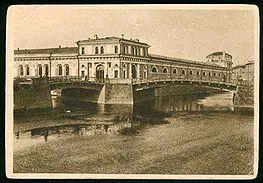 Два «нормальных» пролёта моста в начале XX века