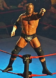 Triple H Pointing Melbourne 10.11.2007.jpg