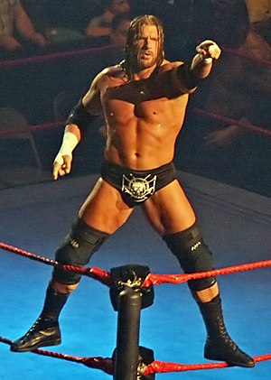 New Year's Revolution (2005) - Triple H won the Elimination Chamber match to become the new World Heavyweight Champion