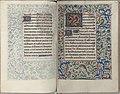 Trivulzio book of hours - KW SMC 1 - folios 099v (left) and 100r (right).jpg