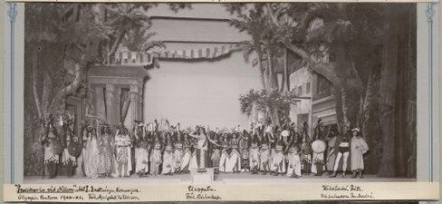 Trollkarlen vid Nilen, Olympiateatern 1900. Föreställningsbild - SMV - H13 013.tif