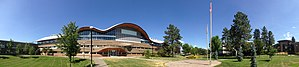 Thompson Rivers University Faculty of Law - The TRU Faculty of Law takes up the top two floors of Old Main.