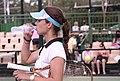 Tsvetana Pironkova 2007 Australian Open womens doubles R1.jpg