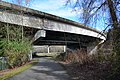 Tukwila - Green River Trail looking northwest under Interstate 5 - 01.jpg