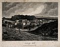 Tunbridge Wells, Kent; panoramic view. Etching by Letitia By Wellcome V0014568.jpg