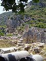 Turkey, Demre, Myra, Rock-cut tombs in Myra. - panoramio.jpg