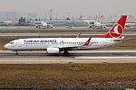Turkish Airlines, TC-JZF, Boeing 737-8F2 (39244901374).jpg