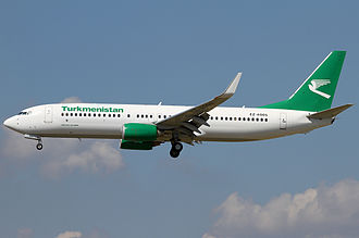 Turkmenistan Airlines - Turkmenistan Airlines Boeing 737-800