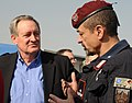 U.S. Senator Mike Crapo talks with Brig. Gen. Carmelo Burgio during a tour (4278910462).jpg