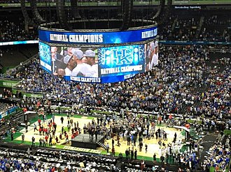 2012 NCAA Division I Men's Basketball Tournament - Kentucky celebrating their 2012 NCAA Championship