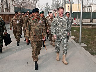Ashfaq Parvez Kayani - Gen. Kayani and Gen. Stanley A. McChrystal (Commander of NATO ISAF and US Forces Afghanistan) during 29th Tripartite Commission meeting.