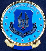 USAFRC Recruiting Service Staff Badge