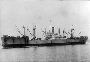 USAT Sargent Sylvester Antolak underway, circa 1947-1949, location unknown.