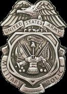USA - Army MP Badge