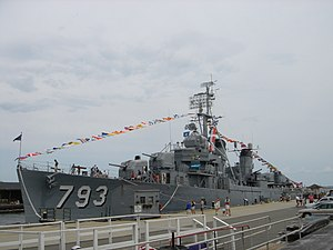 Boston Navy Yard - Image: USS Cassin Young 2007