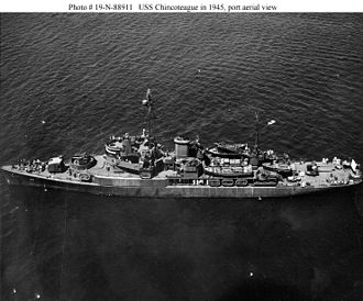 USS Chincoteague (AVP-24) - USS Chincoteague (AVP-24)