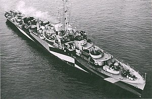 USS Gallup (PF-47) - Image: USS Gallup (PF 47)